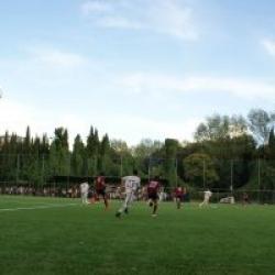 Partita di calcio Achillea 2002 vs AS Roma settore giovanile